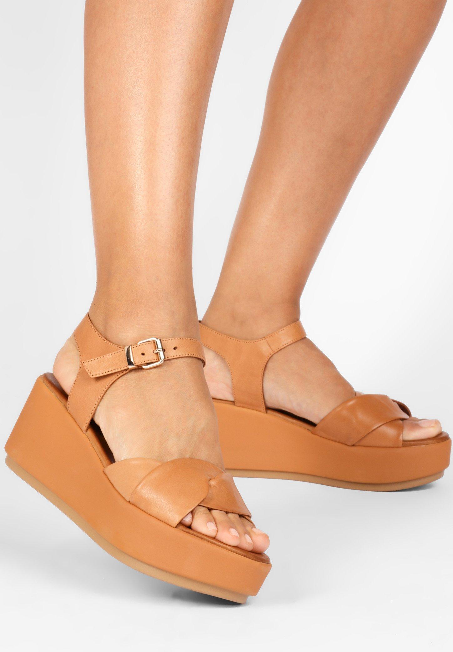 Inuovo Sandales à plateforme - coconut ccn - Sandales & Nu-pieds femme Qualité