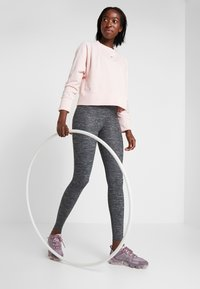 Nike Performance - ONE LUXE - Tights - black/clear - 1