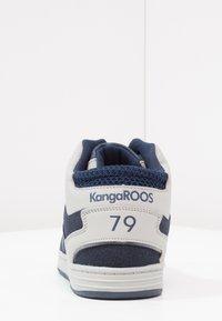 KangaROOS - K-BASKLED II - High-top trainers - blue/vapor grey - 3