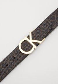 Calvin Klein - NEW MONO BELT - Cinturón - brown - 2