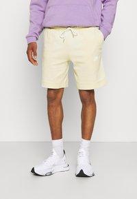 Nike Sportswear - MODERN - Shorts - coconut milk/ice silver/white - 0
