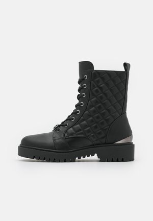 OMALAE - Lace-up ankle boots - black