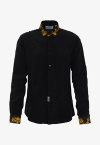 Versace Jeans Couture - BAROQUE COLLAR SHIRT - Koszula - black - 5