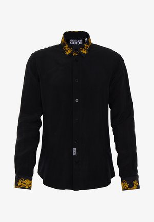 BAROQUE COLLAR SHIRT - Overhemd - black