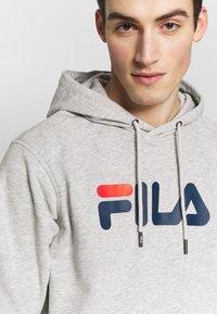 Fila - PURE HOODY - Hoodie - light grey melange - 6