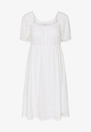 SHORT DRESS - Vestido ligero - snow white