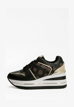 HEKTORE PEONY-LOGO - Sneakersy niskie - mehrfarbig schwarz