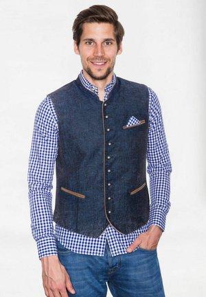 TRACHTEN, PLATZHIRSCH  - Suit waistcoat - blau