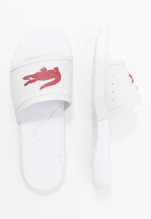 L.30 - Pool slides - white/dark pink