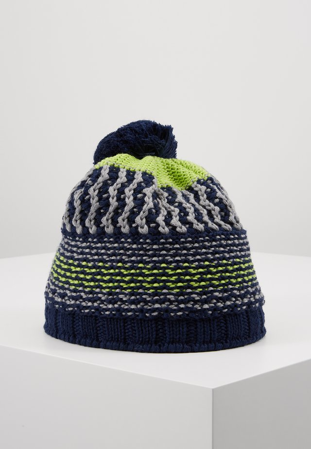 KIDS BOYS - Bonnet - navy/flame