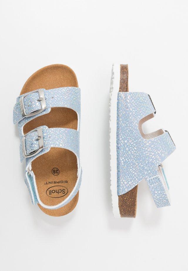 MAZDANIE - Sandaalit nilkkaremmillä - bleu