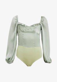 Glamorous Petite - MILKMAID BODYSUIT - Blouse - mint - 4