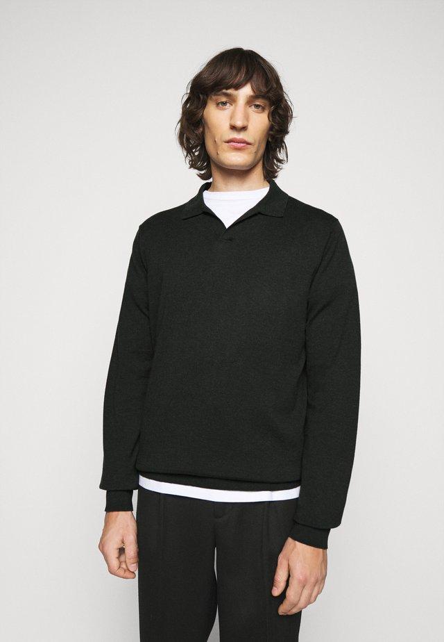 LARS - Pullover - dark spruc