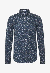 Lindbergh - FLORAL - Shirt - dark blue - 4