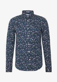 FLORAL - Košile - dark blue