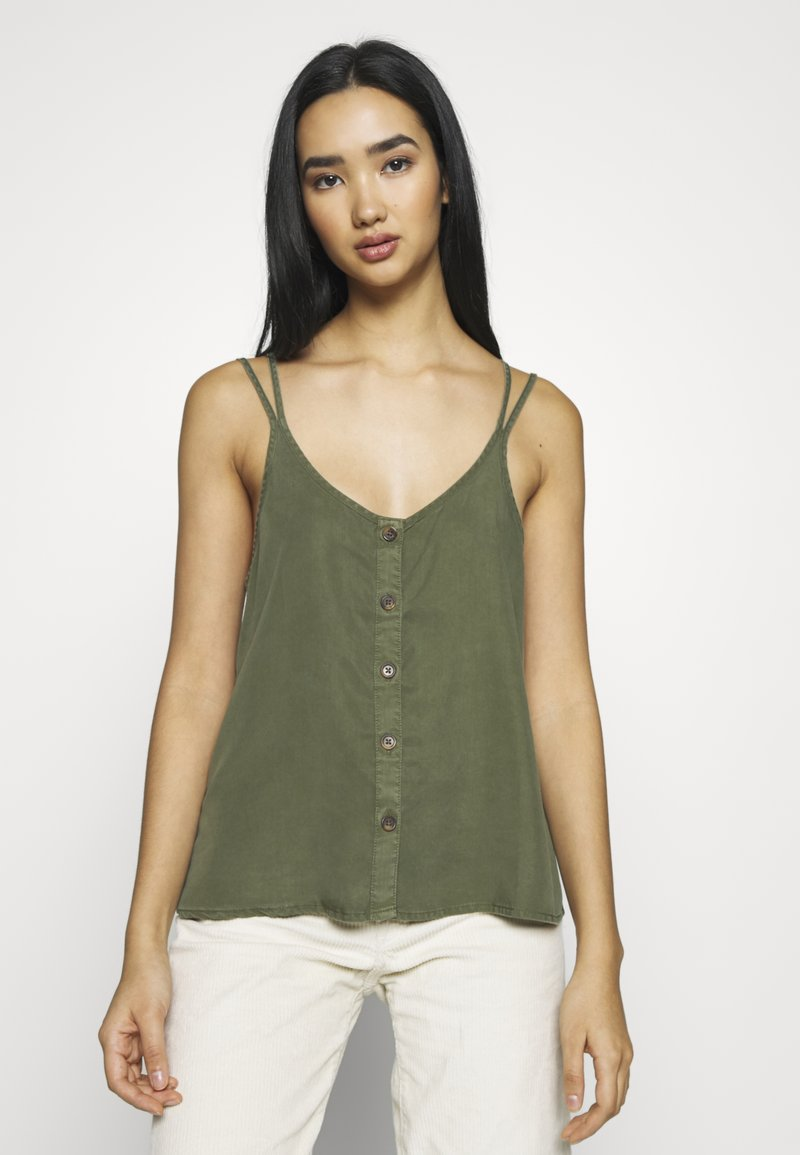 Noisy May - NMMAISIE ENDI STRAP  - Top - olive night
