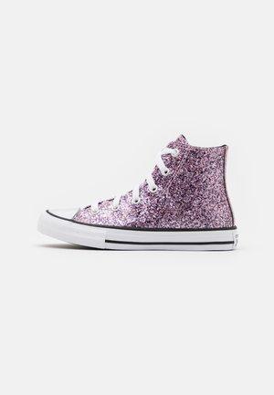 CHUCK TAYLOR ALL STAR GLITTER - Sneakers alte - bright lilac/black/white