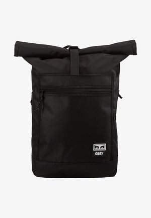 CONDITIONS ROLL TOP BAG - Rucksack - black