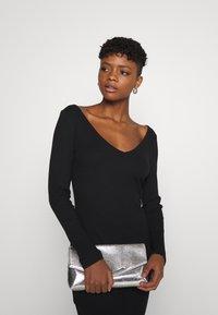 Even&Odd - Jersey dress - black - 3