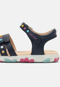 Geox - HAITI GIRL - Sandals - navy - 6