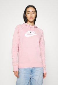 Nike Sportswear - HOODIE - Sweat à capuche - pink glaze/white - 0