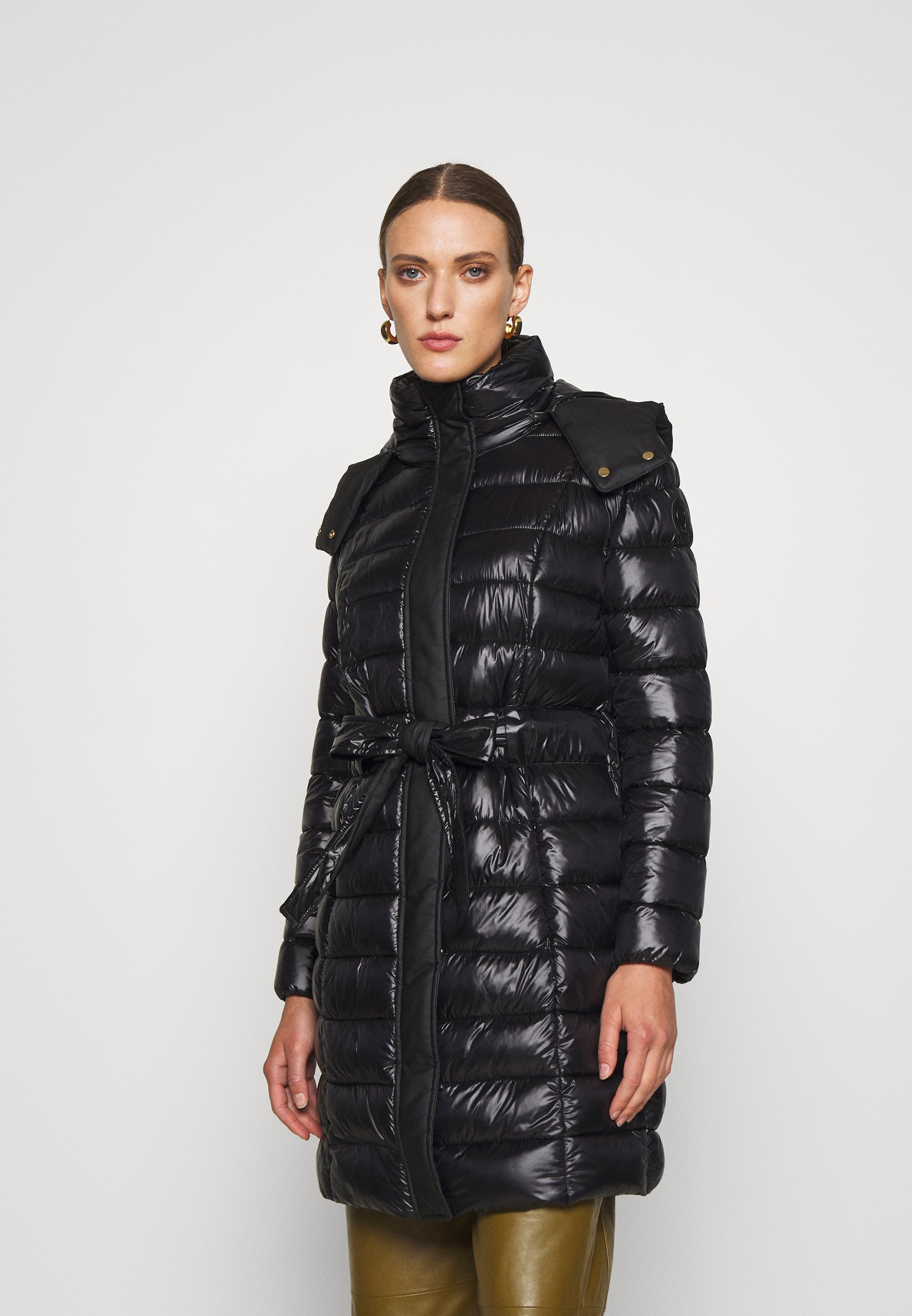 Women QUILTED JACKET PARKA SHINY LIGHT - Winter coat