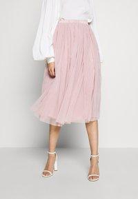 Lace & Beads Tall - VAL SKIRT - Áčková sukně - pink - 0