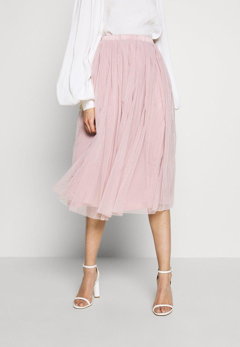 Lace & Beads Tall - VAL SKIRT - Áčková sukně - pink