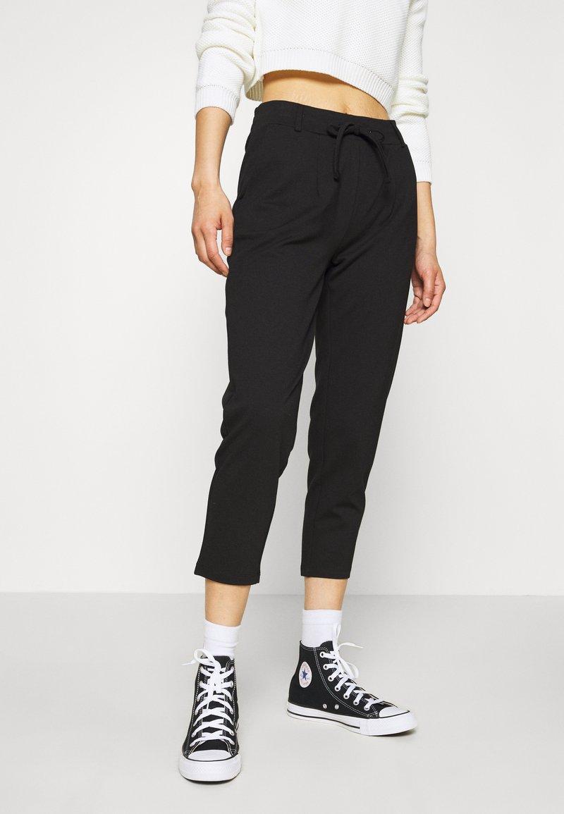 Even&Odd - BASIC - Punto Joggers - Bukse - black