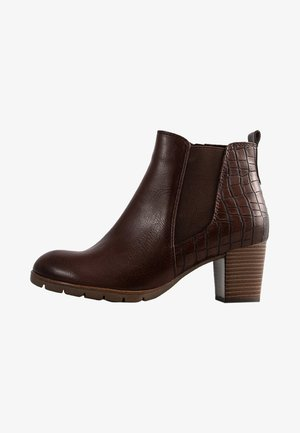 Classic ankle boots - chestnut antic comb