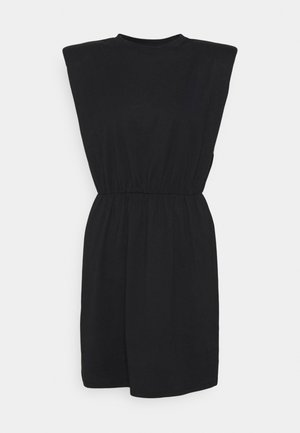 ONLJEN LIFE DRESS - Jersey dress - black