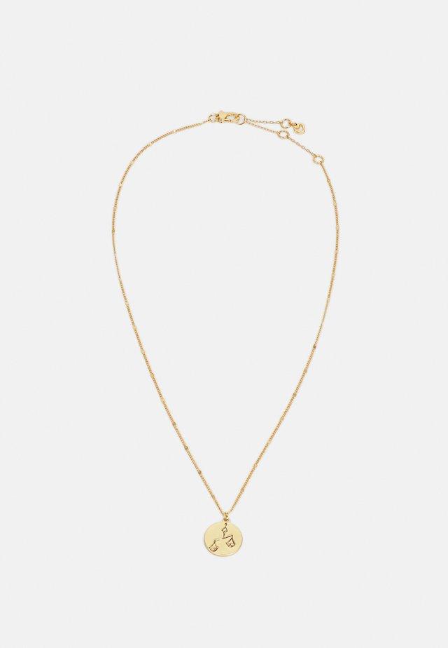 LIBRA PENDANT - Collana - gold-coloured