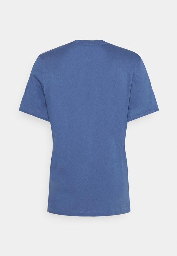 adidas Performance T-shirt z nadrukiem - blue/niebieski Odzież Męska HRPV