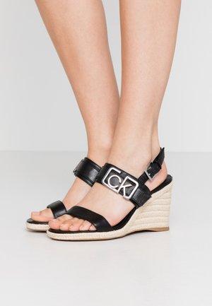 BELORA - High heeled sandals - black