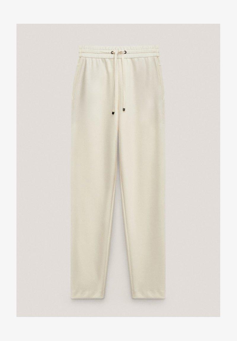 Massimo Dutti - Pantalon de survêtement - white