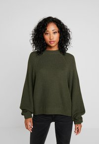 Monki - GITTY  - Jumper - khaki - 0