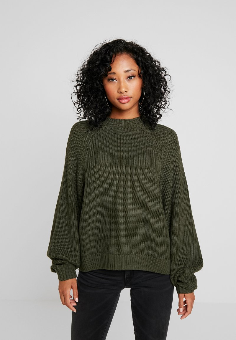 Monki - GITTY  - Jumper - khaki