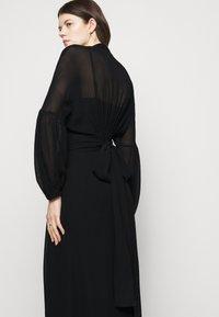 Dondup - GEORGETTE DRESS - Maxi dress - black - 4