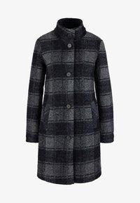 s.Oliver - MANTEL - Classic coat - navy check - 5
