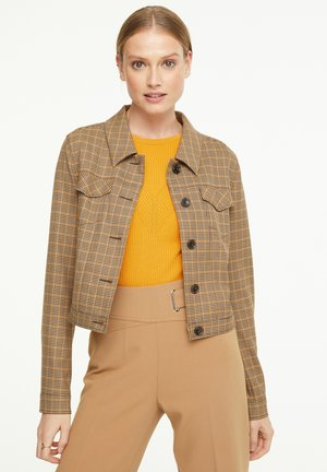 MIT KAROMUSTER - Summer jacket - chocolate houndstooth