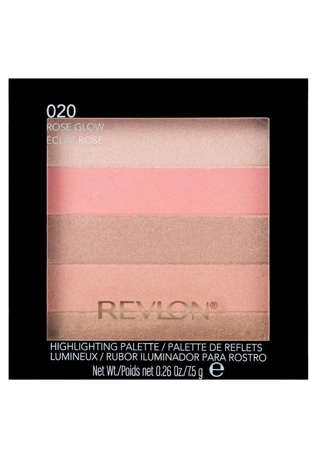 HIGHLIGHTING PALETTE - Palette pour le visage - rose glow