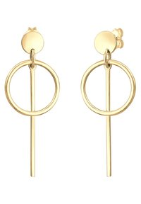 Elli - HÄNGER GEO  - Earrings - gold-coloured - 4