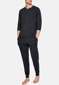 Under Armour - RECOVERY - Long sleeved top - black - 1