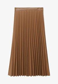 Mango - ONA - A-line skirt - středně hnědá - 5