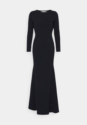 OPEN BACK FISHTAIL BRIDESMAID DRESS - Vestido largo - navy