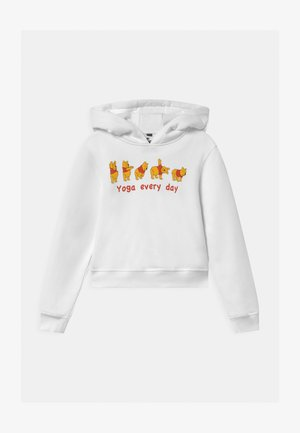 KIDS WINNIE POOH YOGA - Sweatshirt - white