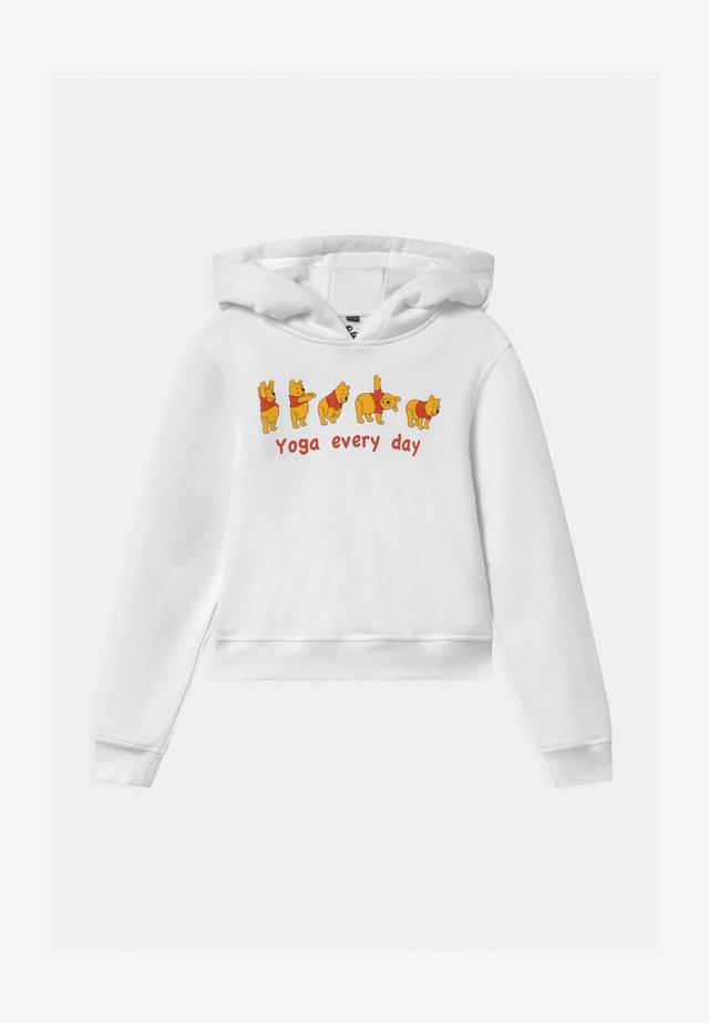 KIDS WINNIE POOH YOGA - Sweater - white