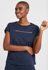Tommy Hilfiger - ORIGINAL TEE LOGO - Pyjama top - navy blazer - 0