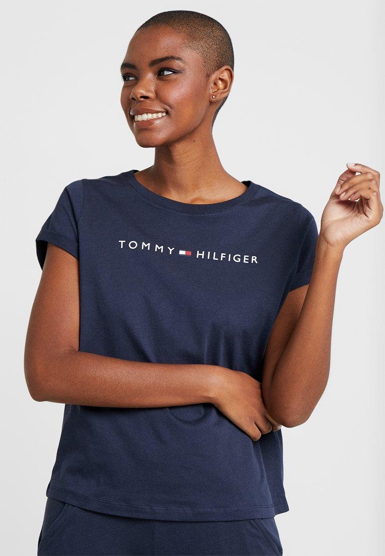 Tommy Hilfiger - ORIGINAL TEE LOGO - Pyjama top - navy blazer