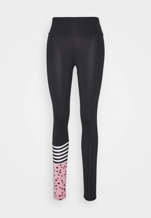 LEGGINGS SURF STYLE DOTS  - Leggings - black